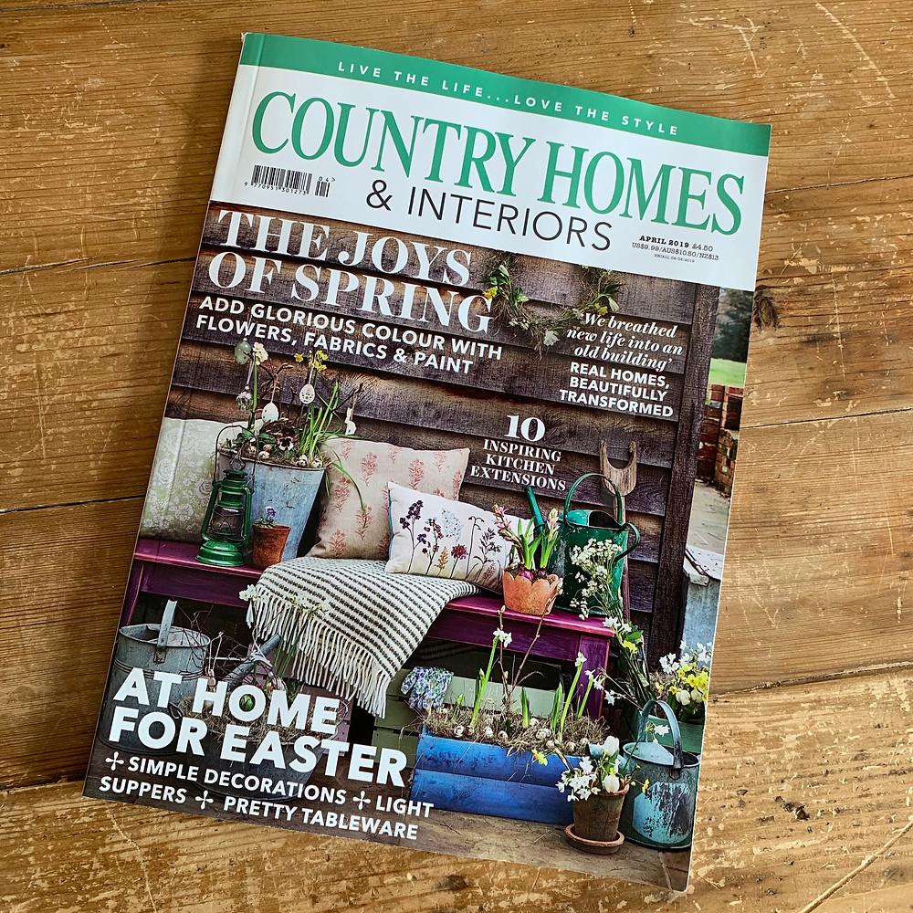 Christine Gardner Country Homes & Interiors magazine