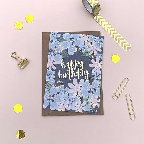 6 Birthday Burst - Happy Birthday Card