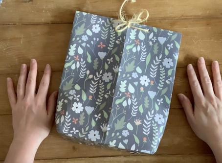 Gift Wrap to Gift Bag Tutorial
