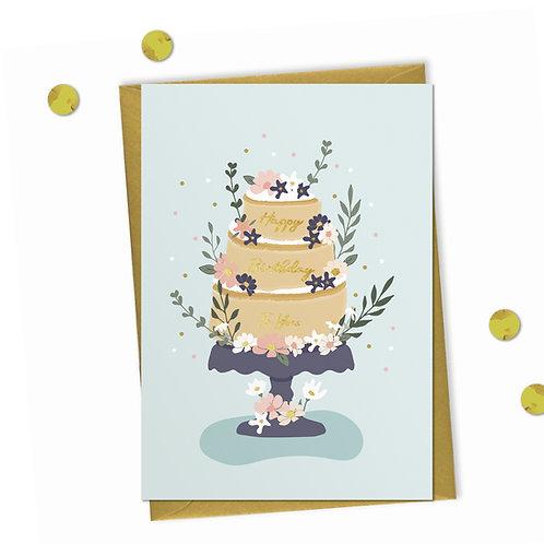 Cake! - Birthday Card