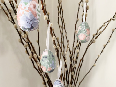 Easy Easter Tree Decorations
