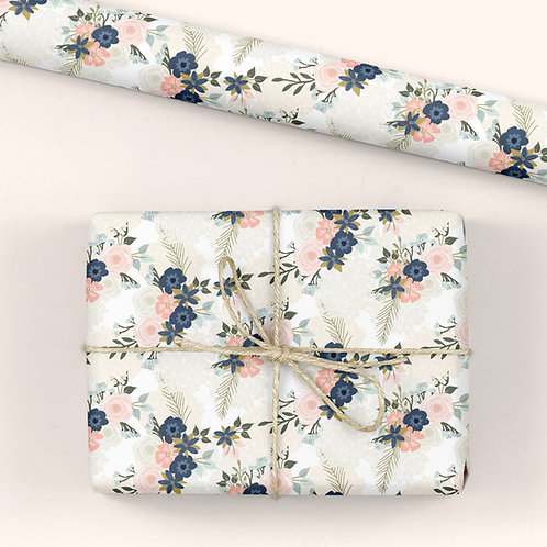 Floral Wrapping Paper / Gift Wrap - Emma's Day