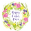 Thumbnail: Personalised Easter card, Easter wreath card, Easter money wallet