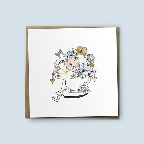 Partea Cup - Birthday Card, Love Card, Encouragement Card