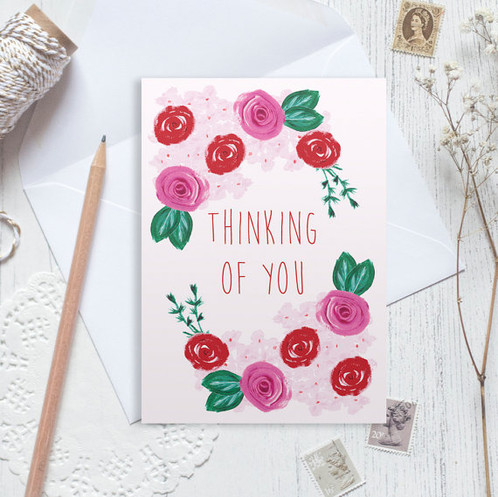 Thinking of you card sympathy card good luck card greetings card thinking of you card sympathy card good luck card greetings card get well m4hsunfo