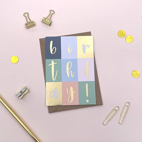 6 Birthday! - Happy Birthday Card