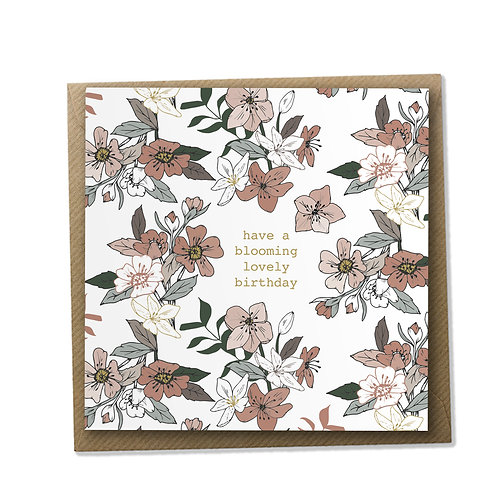Blooming Lovely Birthday - Birthday Card, Birthday Wishes, Happy Birthday Card