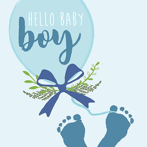 card for new baby boy