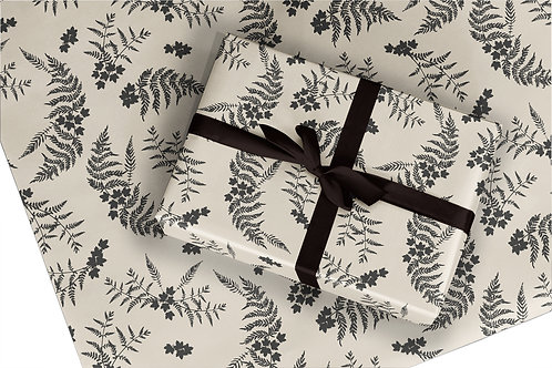 Fern Wrapping Paper / Gift Wrap - Ferns - Spray