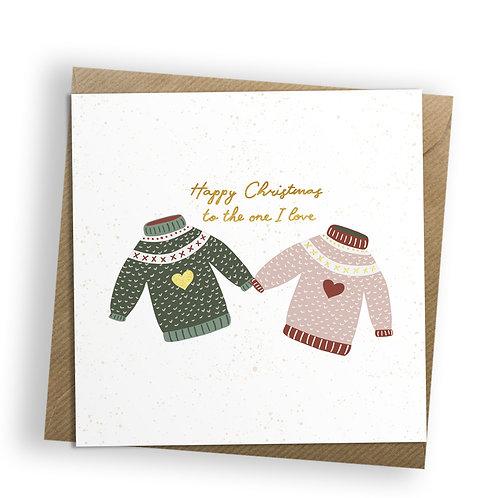 6 Christmas Joy - Jumpers, Christmas Card