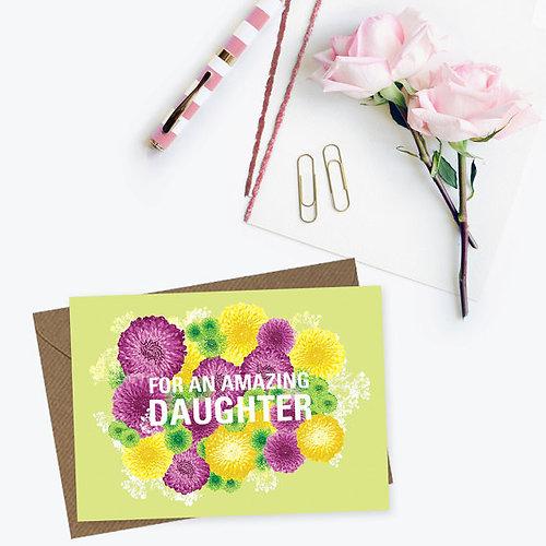 Christine Gardner Design Studio – Daughter Birthday Cards