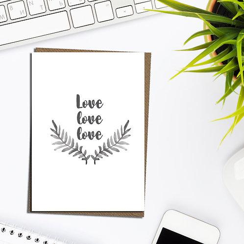 Love card, anniversary card, card for husband, boyfriend