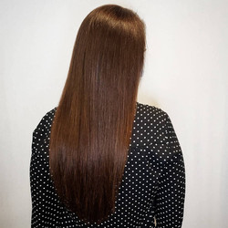 warm brown extensions