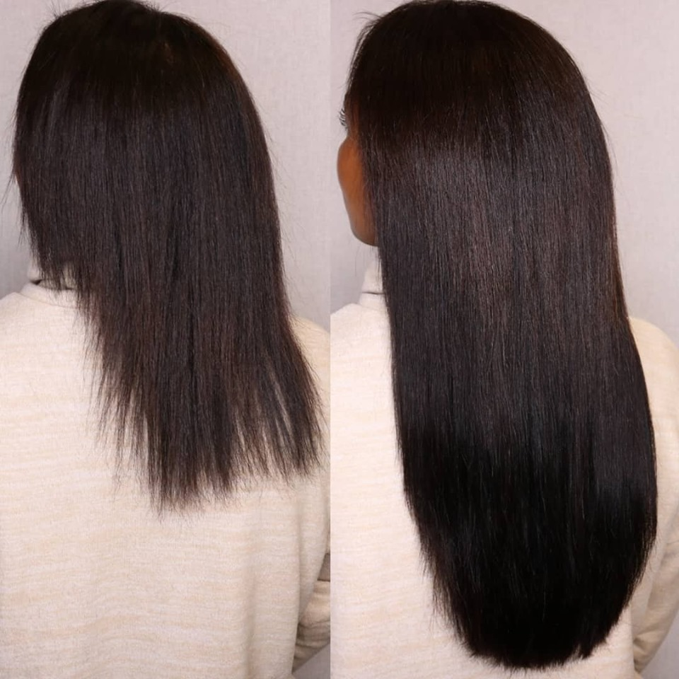 dark brown hair extensions