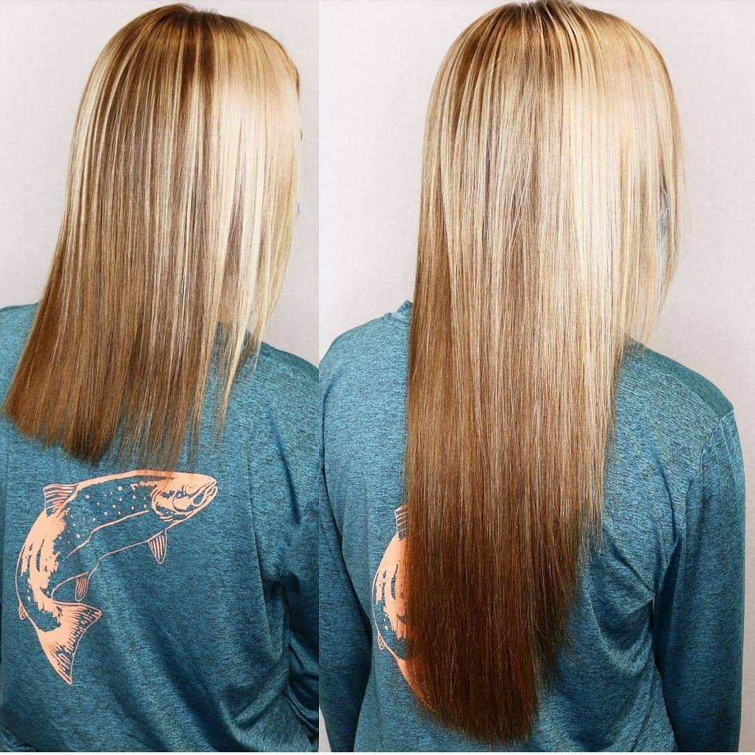 keratin tipped hair extensions