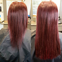 raspberry red extensions