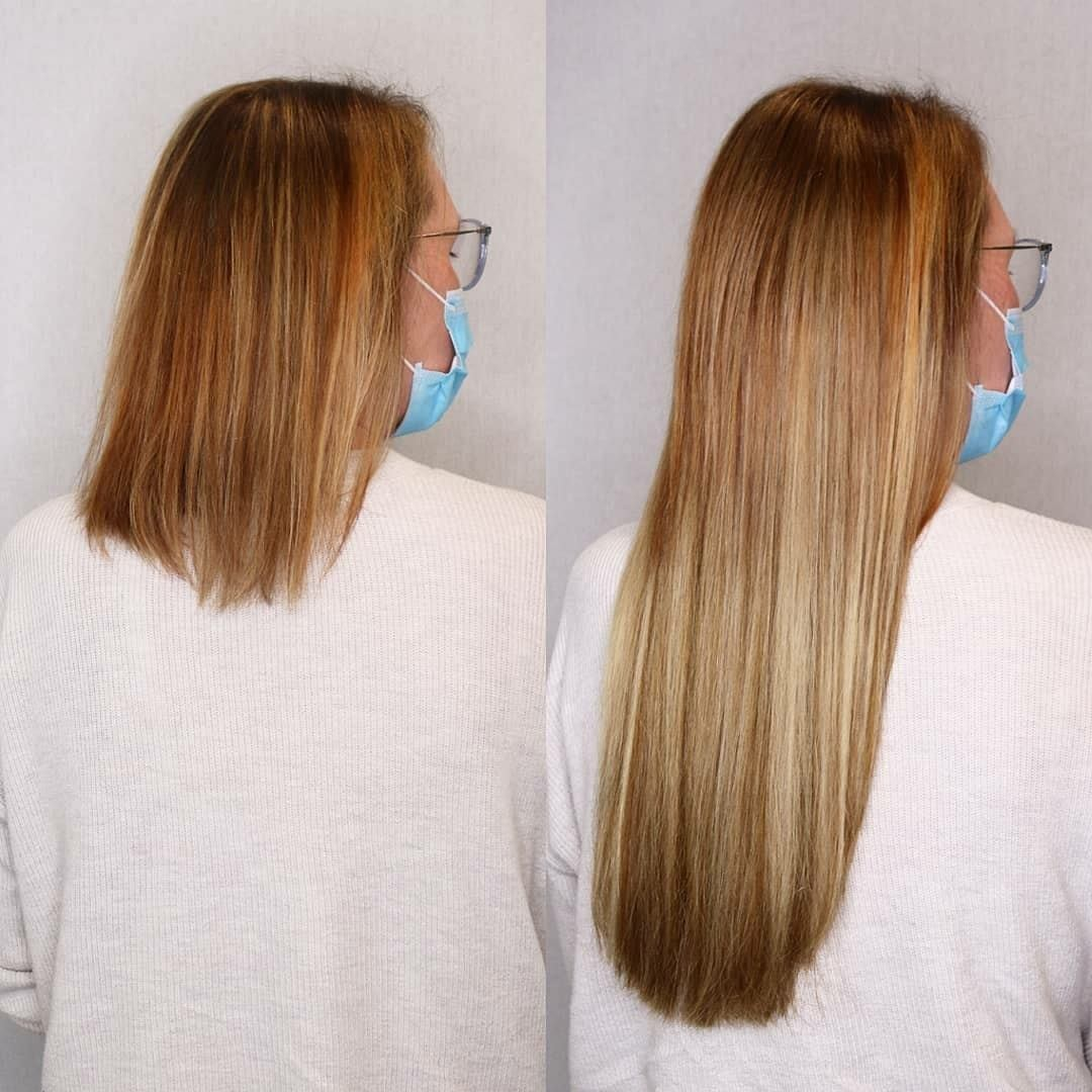keratin hair extensions