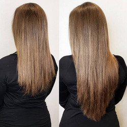 natural light brown extensions