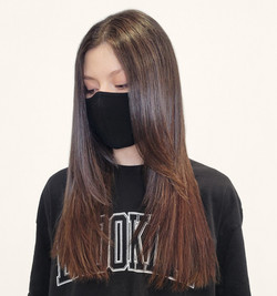 brunette hair extensions