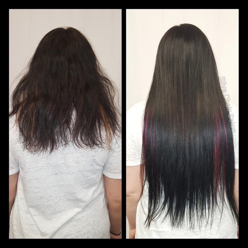 before and after extensions