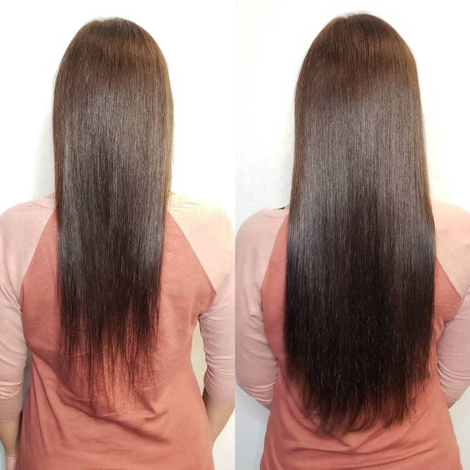 brunette extensions for fullness