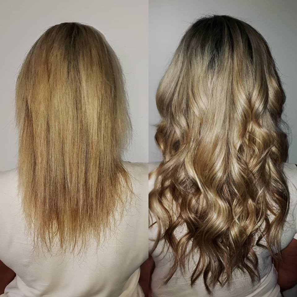 beautiful blonde hair extensions