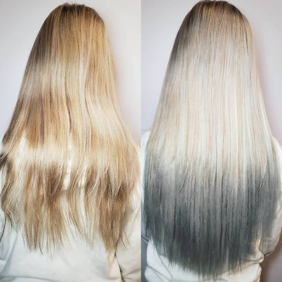 silver mermaid extensions