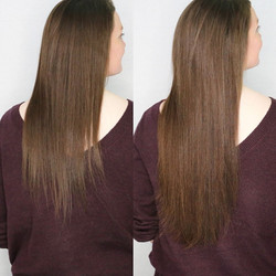fullness with hair extensions