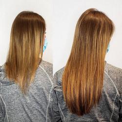 fuller longer fine hair