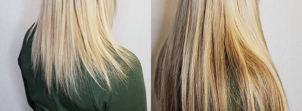 multidimensional blonde hair extensions