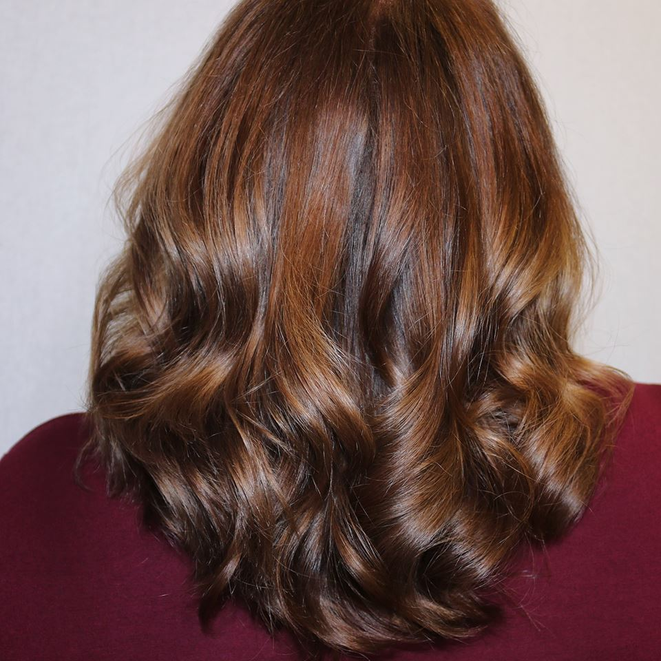 copper brown hair color