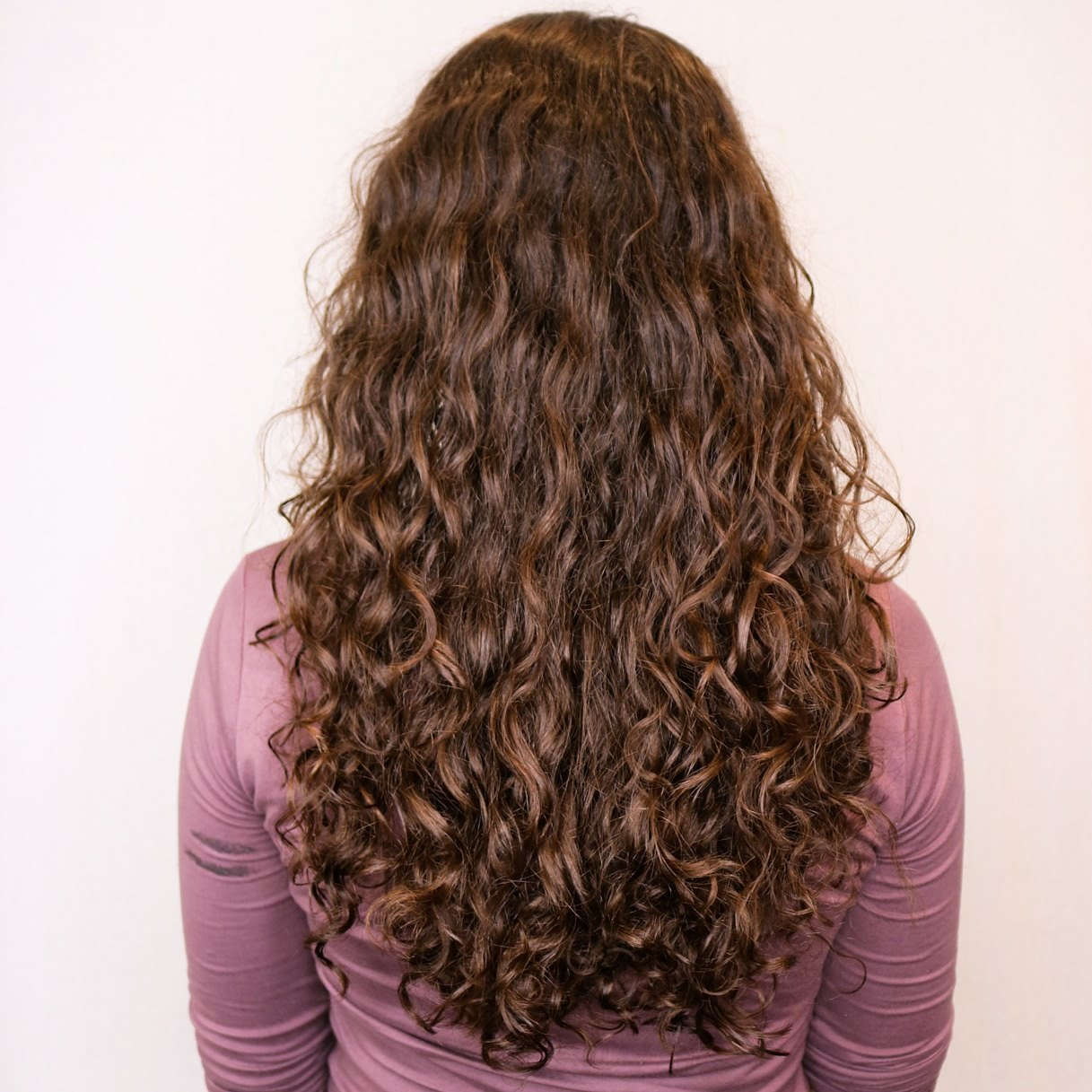 curly brunette hair extensions