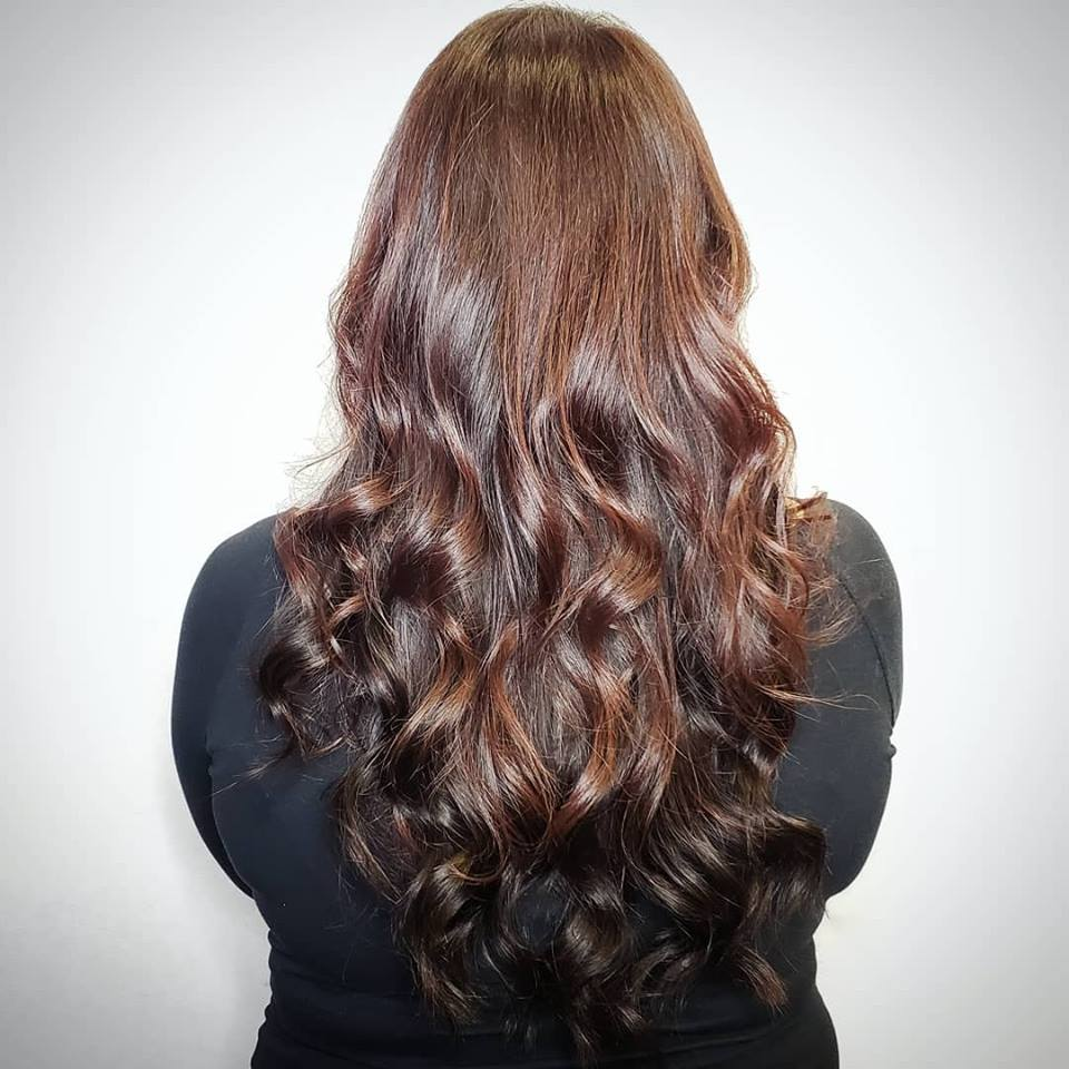 brunette hair extensions for fullness