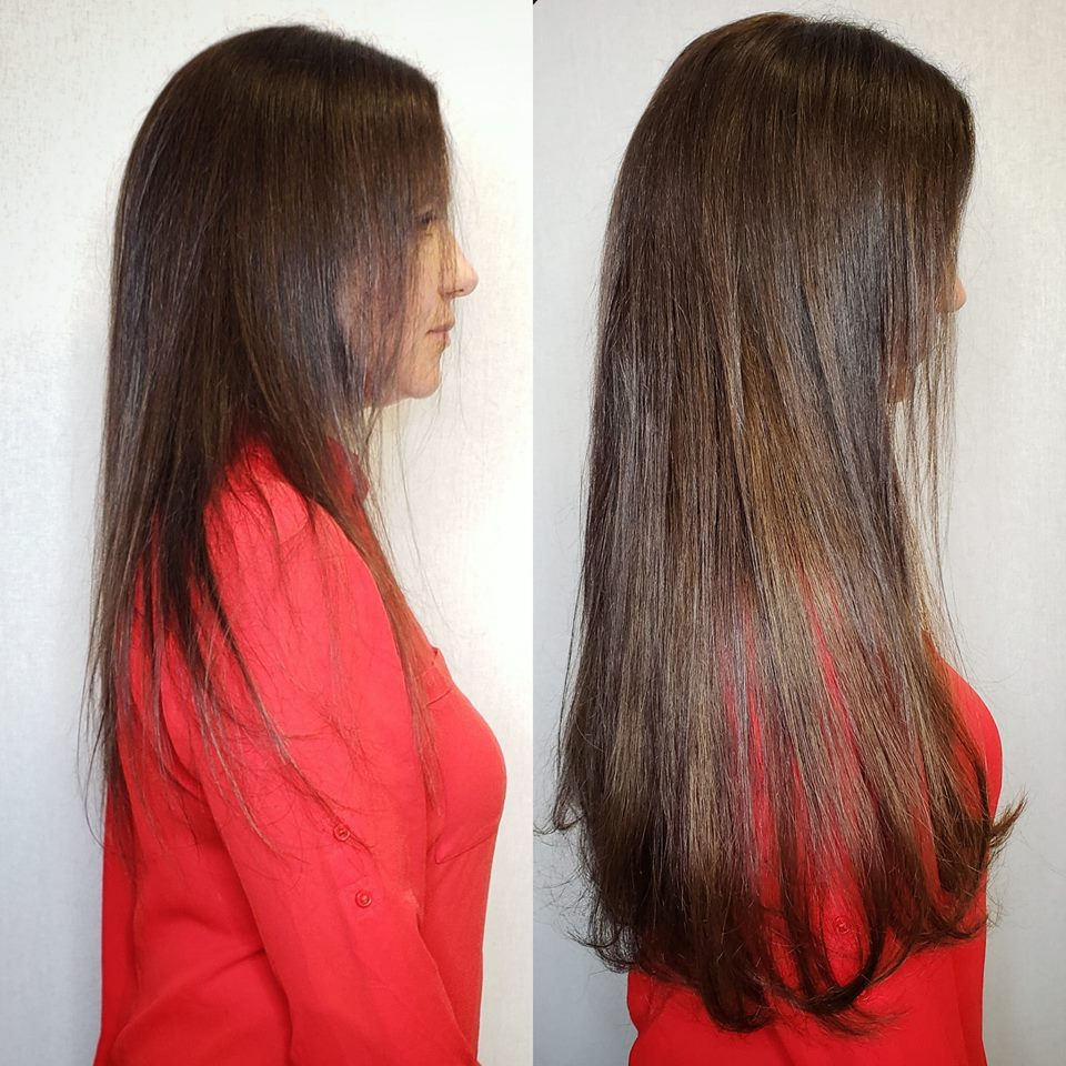 partial head extensions