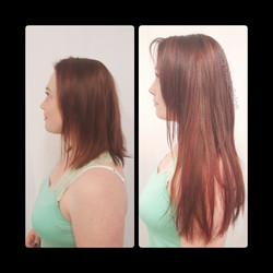 extensions on fine hair