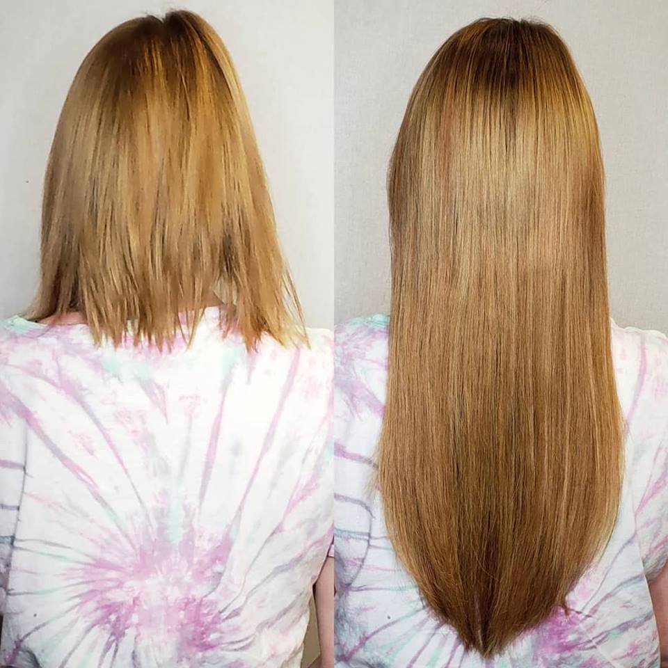 dark blonde hair extensions
