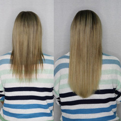 Sandy Blonde Extensions