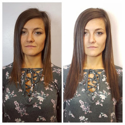 hair extensions natural brown