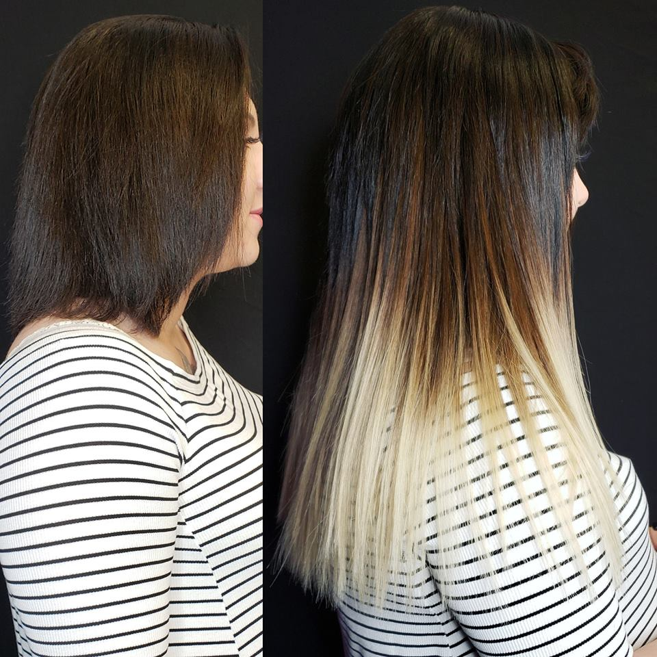 ombre hair extensions