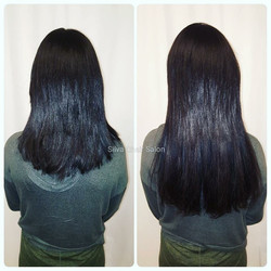 keratin bonded hair extensions for length