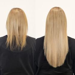 hidden hair extensions on fine hair