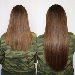 brunette hair extensions