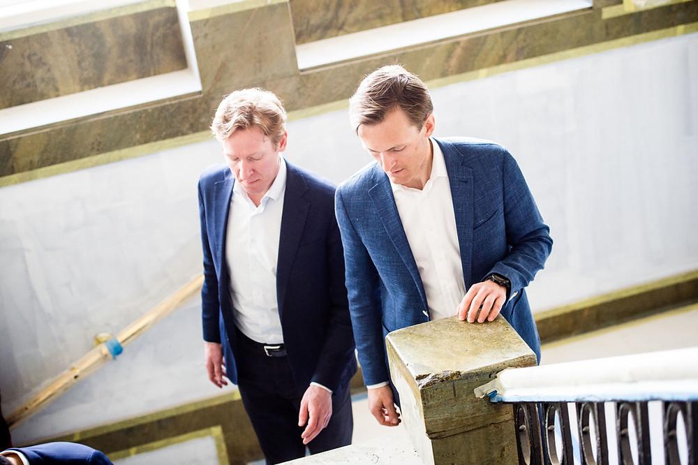 Fv: Victor Evensen, Gudmund Killi