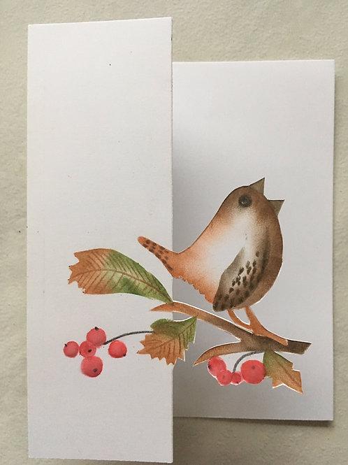 Kerst kant en klare kaarten inclusief envelop