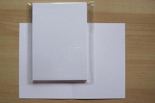 Set van 10 A4 formaat vellen 250 gram