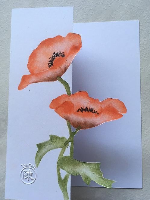 kant en klare vingerveegkunst kaarten inclusief envelop