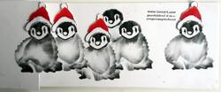 pinguins met 3D muts