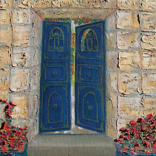 House Painting - A Door to a Magical World
