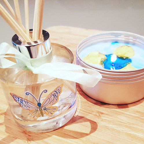 """""""Scents of the Ocean"""" Natural Diffuser"""
