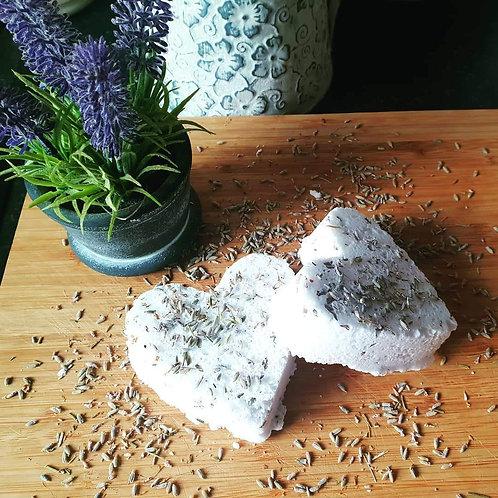 Lavender Heart (Bath Bombs) (Set of 2)